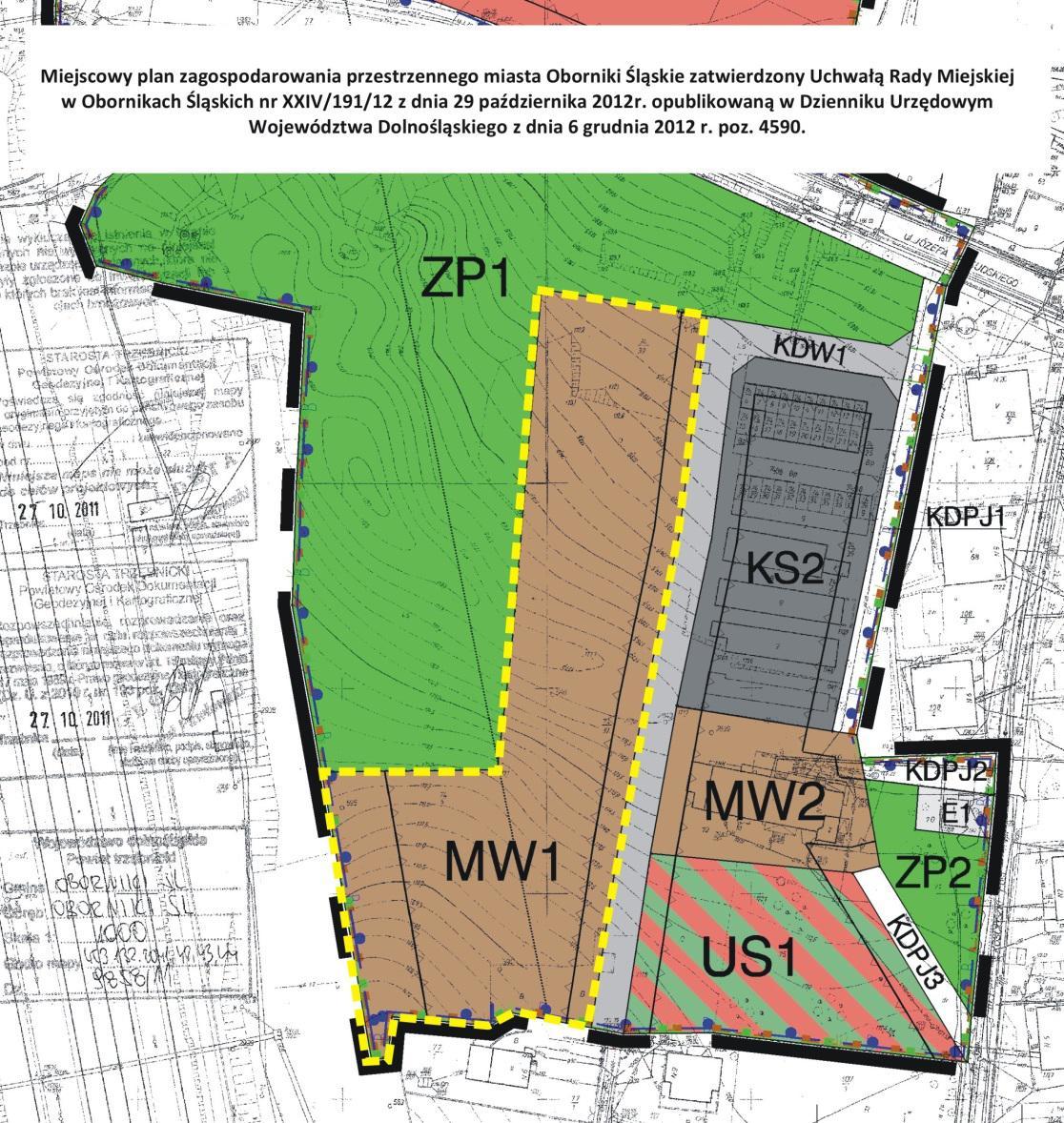 Miejscowy plan zagospodarowania przestrzennego miasta Oborniki Śląskie